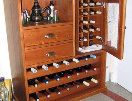 Meuble à bouteilles