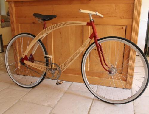 Vélo bois/métal