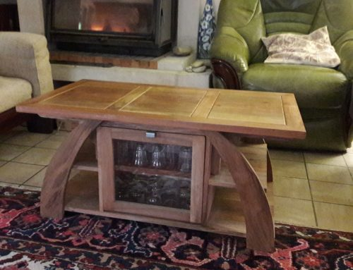 Table basse « apéritive »