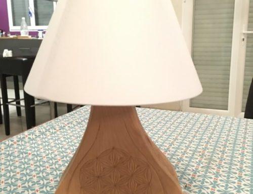 Lampe poire du Queyras