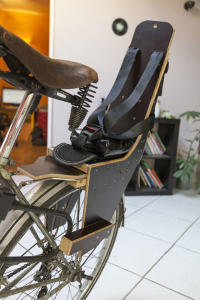 Porte-bagage vélo - Avec siège enfant